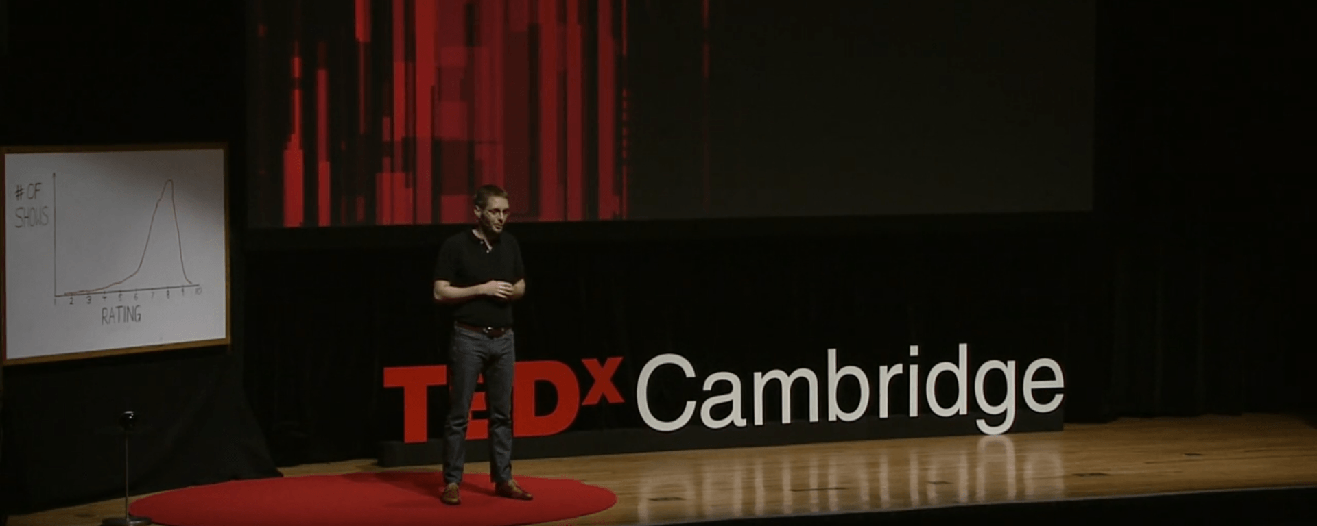 Sebastian WernickeatTEDxCambridge How to use data to make a hit TV show